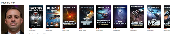 Richard Fox Book Reviews
