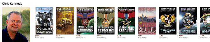 Chris Kennedy Book Reviews