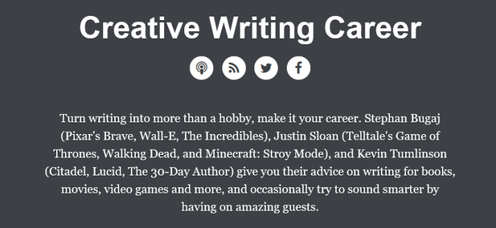 Creative Writing Careers Podcast 2
