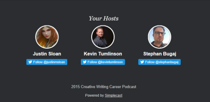 Creative Writing Careers Podcast 3